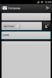 Sony C1505 Xperia E - E-mail - Sending emails - Step 9