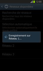 Samsung Galaxy Trend Lite - Réseau - Sélection manuelle du réseau - Étape 9