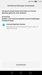 Huawei Honor 8 - Fehlerbehebung - Handy zurücksetzen - 10 / 12