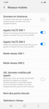 Samsung Galaxy S20 5G - Internet et roaming de données - Désactivation du roaming de données - Étape 7