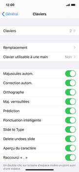 Apple iPhone X - iOS 13 - Prise en main - Comment ajouter une langue de clavier - Étape 5