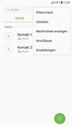 Samsung Galaxy S6 - Anrufe - Anrufe blockieren - 5 / 12