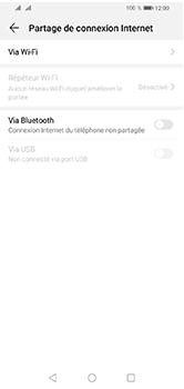 Huawei Y5 (2019) - Internet et connexion - Partager votre connexion en Wi-Fi - Étape 5
