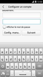 Huawei Ascend Y550 - E-mail - Configuration manuelle (outlook) - Étape 7