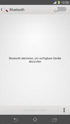 Sony Xperia Z1 Compact - Bluetooth - Geräte koppeln - 0 / 0