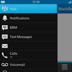 BlackBerry Q10 - E-mail - Sending emails - Step 4