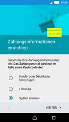 Sony E2303 Xperia M4 Aqua - Apps - Konto anlegen und einrichten - Schritt 18