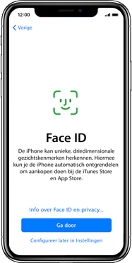 Apple iphone-xs-max-met-ios-13-model-a1921 - Instellingen aanpassen - Activeer het toestel en herstel jouw iCloud-data - Stap 11