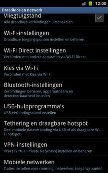 Samsung N7000 Galaxy Note - Internet - aan- of uitzetten - Stap 5