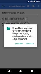 Sony Xperia XZ Premium - Android Oreo - E-mail - e-mail versturen - Stap 10