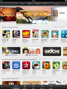 Apple iPad mini - Applicazioni - Configurazione del negozio applicazioni - Fase 24