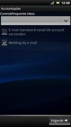 Sony Ericsson Xperia Arc - E-mail - e-mail instellen: POP3 - Stap 9