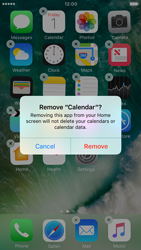Apple iPhone 6s iOS 10 - iOS features - Delete and Restore default iOS Apps - Step 4