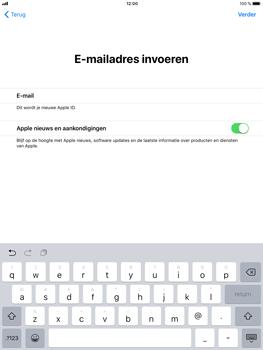 Apple iPad Mini 3 - iOS 11 - Toestel - Toestel activeren - Stap 25