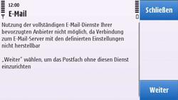 Nokia C6-00 - E-Mail - Konto einrichten - 4 / 4