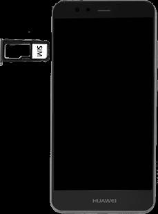 Huawei P10 Lite - SIM-Karte - Einlegen - 1 / 1