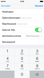 Apple iPhone 5s iOS 8 - E-mail - Account instellen (POP3 zonder SMTP-verificatie) - Stap 19