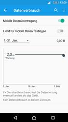 Sony Xperia Z5 - Internet und Datenroaming - Prüfen, ob Datenkonnektivität aktiviert ist - Schritt 7