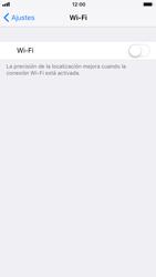 Apple iPhone 7 iOS 11 - WiFi - Conectarse a una red WiFi - Paso 4