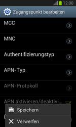 Samsung Galaxy Trend Lite - Internet und Datenroaming - Manuelle Konfiguration - Schritt 16