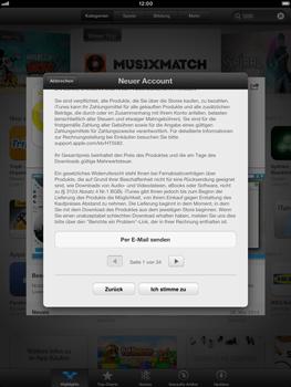 Apple iPad Retina - Apps - Einrichten des App Stores - Schritt 10