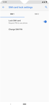 Nokia 7.2 - Getting started - How to enable a SIM pin - Step 10