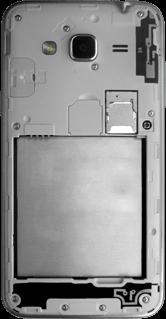 Samsung Galaxy J3 (2016) - SIM-Karte - Einlegen - 4 / 9