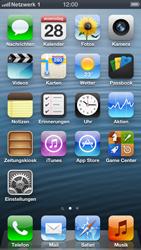 Apple iPhone 5 - Netzwerk - Manuelle Netzwerkwahl - Schritt 9