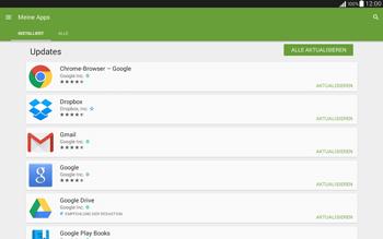 Samsung T535 Galaxy Tab 4 10.1 - Apps - Nach App-Updates suchen - Schritt 6