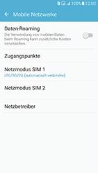 Samsung Galaxy J5 (2016) DualSim - Netzwerk - Netzwerkeinstellungen ändern - 5 / 7