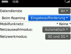 BlackBerry Bold - Ausland - Im Ausland surfen – Datenroaming - 7 / 8