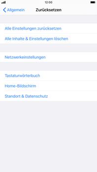 Apple iPhone 6s Plus - iOS 13 - Fehlerbehebung - Handy zurücksetzen - Schritt 7