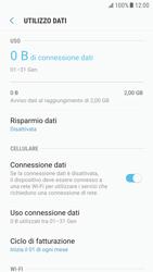 Samsung Galaxy S6 - Android Nougat - Internet e roaming dati - Come verificare se la connessione dati è abilitata - Fase 7