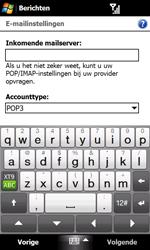 HTC T7373 Touch Pro II - e-mail - handmatig instellen - stap 10