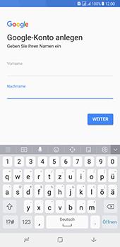Samsung Galaxy A8 Plus (2018) - Apps - Konto anlegen und einrichten - 6 / 19