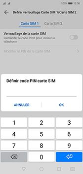 Huawei P20 - Android Pie - Prise en main - Comment activer un code SIM - Étape 10