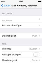 Apple iPhone 4 S - E-Mail - Konto einrichten - 27 / 29