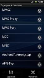 Sony Ericsson Xperia Arc S - MMS - Manuelle Konfiguration - Schritt 13