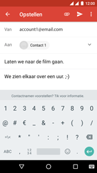 Android One GM6 - E-mail - hoe te versturen - Stap 9