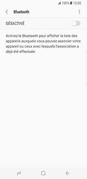 Samsung Galaxy S8 - Bluetooth - connexion Bluetooth - Étape 8