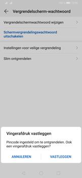 Huawei P30 - Beveiliging - stel in of wijzig pincode voor je toestel - Stap 8