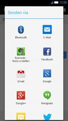 Alcatel One Touch Idol S - Internet und Datenroaming - Verwenden des Internets - Schritt 20
