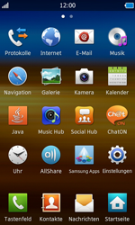 Samsung Wave - Anrufe - Anrufe blockieren - 3 / 10