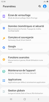 Samsung Galaxy J4 Plus - Appareil - configurer Localiser mon appareil - Étape 4