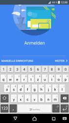 Sony Xperia XZ - Android N - E-Mail - Konto einrichten - 2 / 2