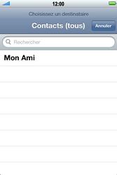 Apple iPhone 4 S - E-mail - envoyer un e-mail - Étape 6