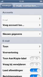Apple iPhone 5 - E-mail - e-mail instellen: POP3 - Stap 13