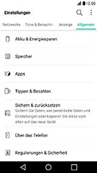 LG X Power - Fehlerbehebung - Handy zurücksetzen - Schritt 6
