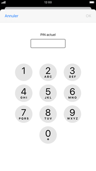 Apple iPhone 7 Plus - iOS 13 - Sécurité - modifier SIM PIN - Étape 6