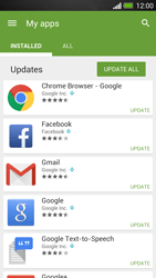 HTC One - Applications - How to check for app-updates - Step 6